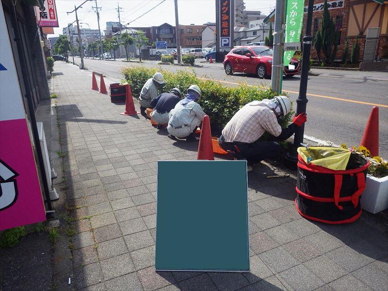 05月12日 植樹帯除草工1回目 作業状況②_R